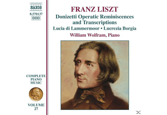 William Wolfram - Donizetti Opern-Remineszenzen - (CD)