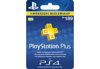 SONY TT PlayStation Plus - 90 dagar