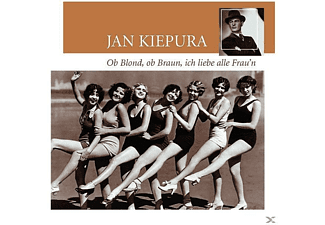 Jan Kiepura - OB BLOND, OB BRAUN - (CD)