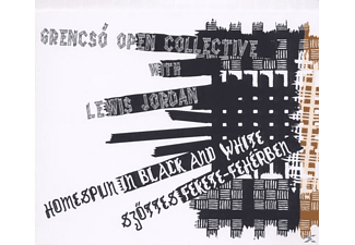 Grencsc Open Collective With Lewis, Lewis / Grencsó Open Collective Jordan - Homespun in Black and White - (CD)