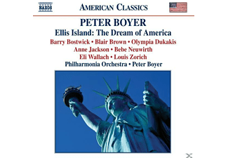 Pol, Peter Boyer, Peter/pol Boyer - Ellis Island: Dream Of America - (CD)