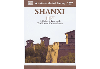 Naxos Scenic Musical Journeys Shanxi A Cultural Tour with Traditional Chinese Music - (DVD)