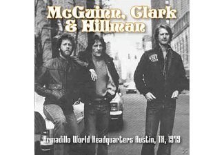 Mcguinn & Hillman Clark - Armadillo World Headquarters Austin, Tx, 1979 - (CD)