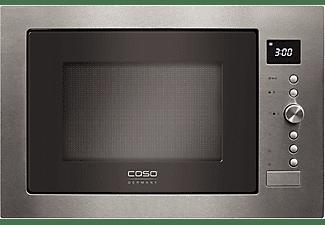 Caso EMCG 32 Edelstahl Einbau-Mikrowelle mit Grill und Heiï¿œluft