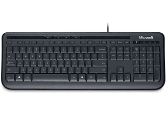 MICROSOFT Wired Keyboard 600 Zwart