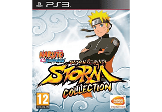 Naruto Shippuden Ultimate Ninja Storm Collection 1 + 2 + 3 PS3