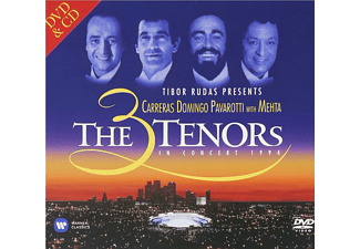 Domingo, P./Careras, J./Pavarotti, L./Mehta, Z. - The 3 Tenors In Concert 1994 - (CD + DVD Video)