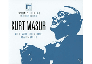 Kurt Masur - Kapellmeister-Edition 3-Kurt Masur - (CD)