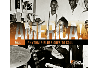 VARIOUS - America! Vol.12 - Rhythm & Blues Goes To Soul - (CD)