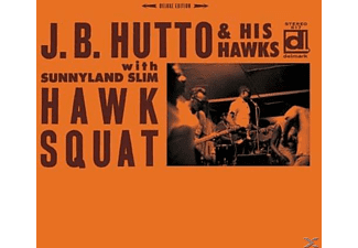 J.B. & His Hawks Hutto - Hawk Squat - (Vinyl)