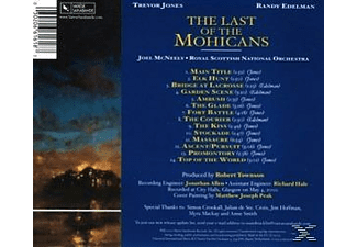 Randy Edelman;Trevor Jones The Last Of The Mohicans CD