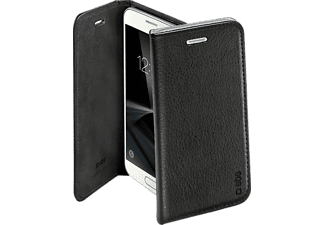 SBS MOBILE Flat Book Case För Galaxy S7 - Svart