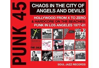 VARIOUS - Punk 45:Chaos In The City Of Angels And Devils - (Vinyl)