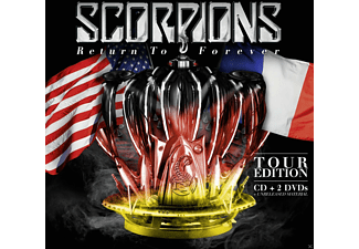 Scorpions - Return To Forever - Tour Edition (Cd + 2dvd) [CD + DVD Video]