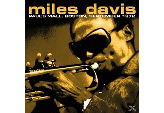 Miles Davis - Paul's Mall, Boston, September 1972 - (Vinyl)