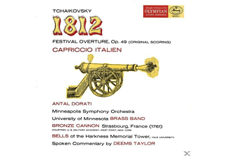 University of Minnesota Brass Band, Minneapolis Symphony Orchestra, London Symphony Orchestra - 1812 (Mercury Living Presence Special Edition) - (Vinyl)