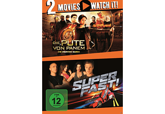 Superfast! + Die Pute von Panem - The Starving Games - (DVD)