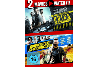 Brick Mansions/Gangster Chronicles - (DVD)