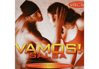 VARIOUS - Vamos! Vol.12-Salsa Hits F - (CD)