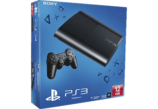 SONY PS3 12GB Super Slim Console Black