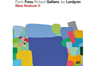 Paolo Fresu, Richard Galliano, Jan Lundgren - Mare Nostrum Ii - (CD)