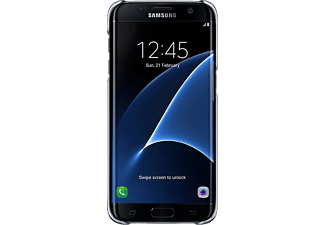 SAMSUNG Clear Cover S7 edge Zwart
