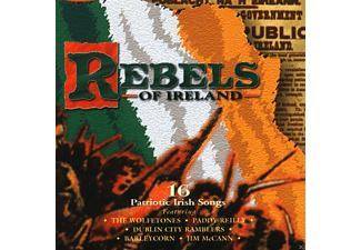 VARIOUS - Rebels Of Ireland - (CD)