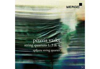 Spikeru String Quartet - Streich, Quart.1, 3&4 - (CD)