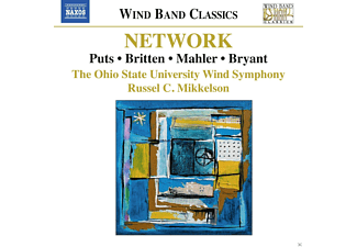 The Ohio State University Wind Symphony, Russel C. Mikkelson - Network: Music For Wind Band [CD]