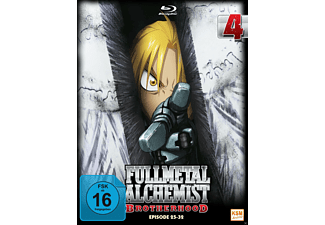 Fullmetal Alchemist - Brotherhood - Volume 4 (Folge 25-32) [Blu-ray]