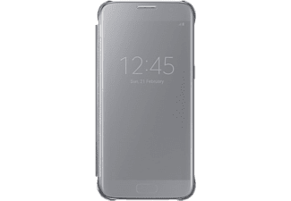 SAMSUNG Samsung Galaxy S7 clear view cover tok ezüst