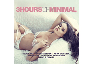 VARIOUS - 3 Hours Of Minimal - (CD)