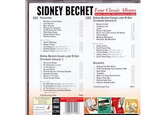 Sidney Bechet Cd2 - Four Classic Albums - (CD)