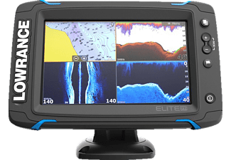 LOWRANCE Elite-7 TI Mid/High/Totalscan Angeln