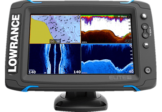 LOWRANCE Elite-7TI Mid/High/Downscan Angeln