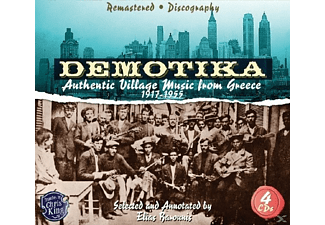 VARIOUS - Demotika-Authentic Greek Village Music [CD]