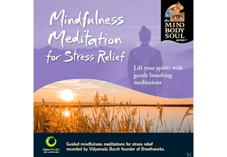 Vidyamala Burch - Mindfulness Meditation For Stress Relief - (CD)