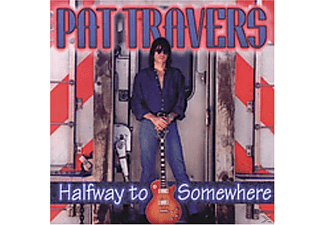Pat Travers - Halfway To Somewhere [CD]