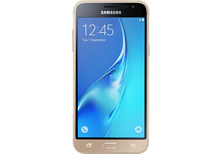 SAMSUNG Galaxy J3 (2016) DUOS, Smartphone, 8 GB, 4.98 Zoll, Gold, LTE