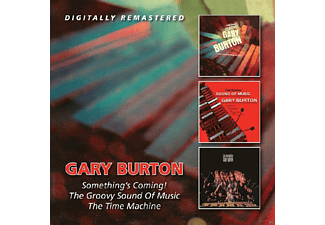 Gary Burton - Something's Coming Up/Groovy Sound Of Music/Time M - (CD)