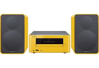 ONKYO CS-265 mini hifi, sárga
