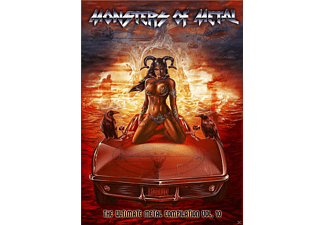 VARIOUS - Monsters Of Metal Vol. 10 - (Blu-ray)