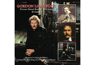 Gordon Lightfoot - Dream Street Rose/Shadows/Salute [CD]