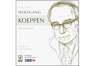 Koeppen: Bonjur Paris - 2 CD - Hörbuch