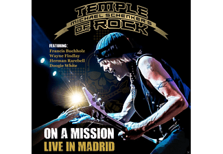 Michael  Schenker's - On A Mission-Live In Madrid - (CD)