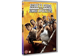 Scouts Guide to the Zombie Apocalypse Skräck DVD