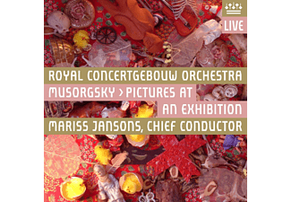 Royal Concertgebouw Orchestra - Mussorgsky: Pictures At An Exhibition - (CD)