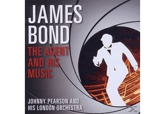 Johnny Pearson & His London Orchestra - James Bond-The Agent And His Music - (CD)