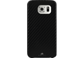 BLACK ROCK Flex-Carbon Backcover Samsung Galaxy S7 Edge Kunststoff/Mikrofaser/Polycarbonat (PC) Schwarz