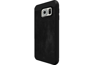 "BLACK ROCK ""Material Case Suede"", Samsung, Backcover, Galaxy S7, Kunststoff/Echtleder/Polycarbonat (PC)/Thermoplastisches Polyurethan (TPU), Schwarz"